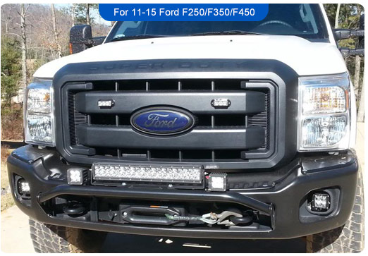 Offroad led lights for ford super duty product news offroad led product news aloadofball Gallery