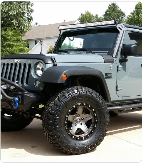 Offroad Led Light Bar For Jeep Wrangler-Product News
